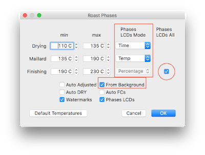 phases dialog